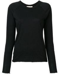 Nili Lotan - Longsleeved Fitted T-shirt - Lyst