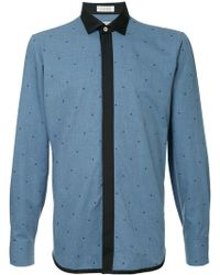 Education From Young Machines - Stars Embroidered Shirt - Lyst