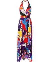 Balmain - Flared Fitted Waist Dress - Lyst