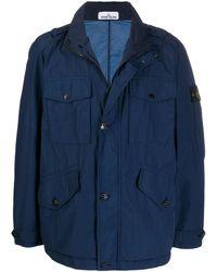 Stone Island Field Jacket - Blue