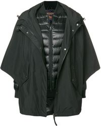 Woolrich オーバーサイズ コート - ブラック