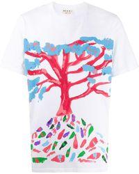 Marni - Tree Tシャツ - Lyst