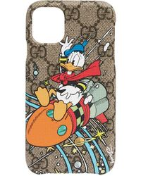 Gucci X Disney 'donald Duck' Iphone 11 ケース - マルチカラー