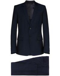 Prada シングルスーツ - ブルー