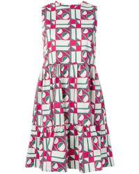 LaDoubleJ - Geometric Print Dress - Lyst