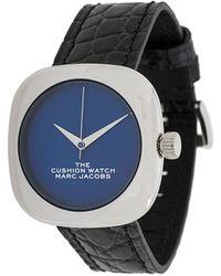 Marc Jacobs The Cushion 腕時計 - ブラック