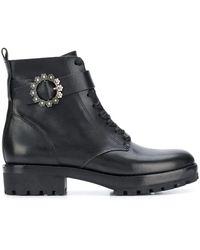 MICHAEL Michael Kors Ryder Boots - Black