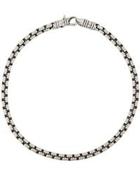 Tom Wood - Chain Link Bracelet - Lyst
