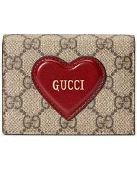 Gucci - GGスプリーム財布 - Lyst