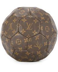 Louis Vuitton 'Footbal France World Cup Limited' Handtasche - Braun