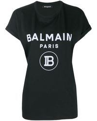 Balmain - ロゴプリント Tシャツ - Lyst