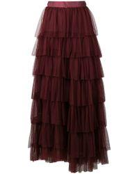 Forte Forte - Sheer Layered Skirt - Lyst