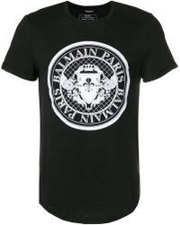 Balmain - Monnaie Logo T-shirt - Lyst