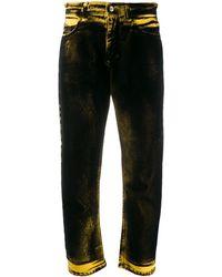 N°21 ストレートジーンズ - ブラック