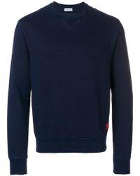 Jacob Cohen Contrast Stitch Sweatshirt - Blue