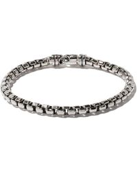 David Yurman Box Chain Grote Armband - Metallic