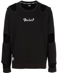 KTZ カットアウト Tシャツ - ブラック
