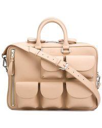 Valas - Aktentasche mit aufgesetzten Taschen - Lyst