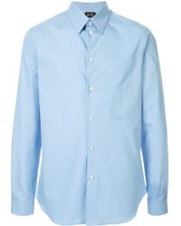 N°21 - Long-sleeve Fitted Shirt - Lyst