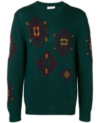 Etro - Embroidered Fitted Jumper - Lyst
