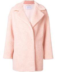Harris Wharf London Short Coat - Pink