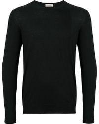 Laneus - Round Neck Pullover - Lyst