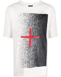 Thom Krom プリント Tシャツ - ホワイト