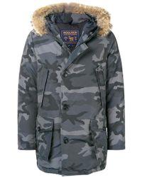 Woolrich - Camouflage Parka - Lyst