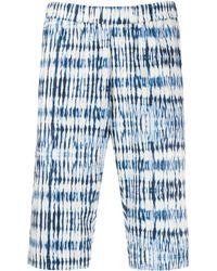Barena グラフィック ショートパンツ - ブルー