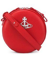 Vivienne Westwood ロゴ ショルダーバッグ - レッド