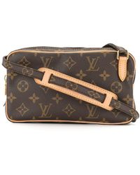 Louis Vuitton Borsa a spalla 2005 Pre-owned Marly Bandouliere - Marrone