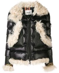 Bazar Deluxe - Padded Trimmed Coat - Lyst