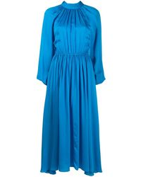 RHODE ハイネック ドレス - ブルー