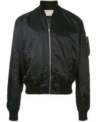 Maison Kitsuné パデッド ボンバージャケット - ブラック