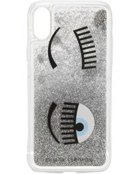 Chiara Ferragni Flirting Iphone X Cover - Metallic