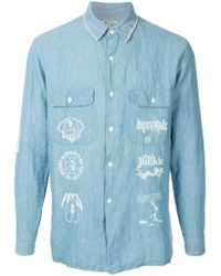Hysteric Glamour - Shirt With Graphic Print - Lyst