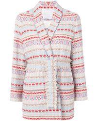 Giada Benincasa - Oversized Tweed Blazer - Lyst