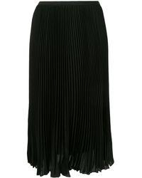 Polo Ralph Lauren プリーツ スカート - ブラック