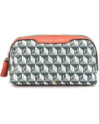 Anya Hindmarch Trousse make up - Verde