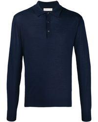 Etro ニット ポロシャツ - ブルー