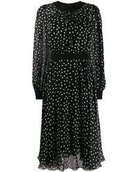 Dolce & Gabbana - ポルカドット ドレス - Lyst