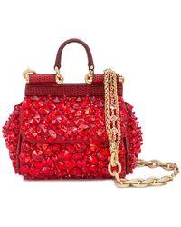 46e639edba0f Dolce & Gabbana - Micro Sicily Bag - Lyst