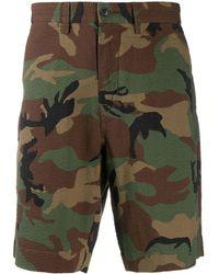 Polo Ralph Lauren Shorts mit Camouflage-Print - Grün