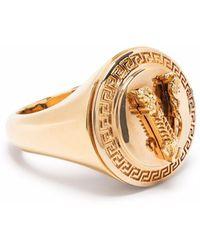 Versace Перстень Virtus - Металлик