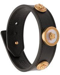 Versace - Medusa Cuff Bracelet - Lyst