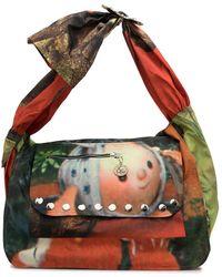 Chopova Lowena Graphic-print Shoulder Bag - Multicolour