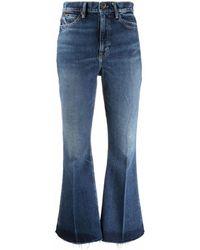 Polo Ralph Lauren High-waist Flared Jeans - Blue