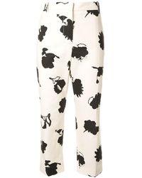 Marni Happy Print Trousers - Multicolour