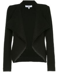 Likely Cropped Lightweight Blazer - Black