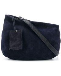 Marsèll Asymmetric Shoulder Bag - Blue